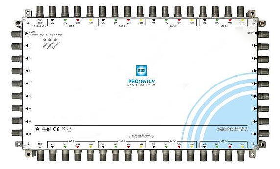Multiswitch WISI DY 1716