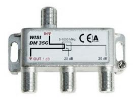 Odgałęźnik WISI 35 C
